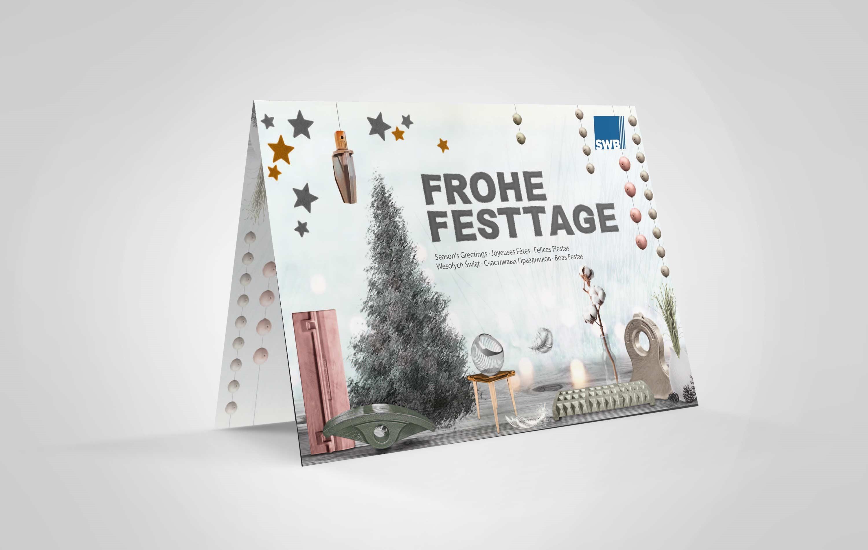 Weihnachtskarte SWB